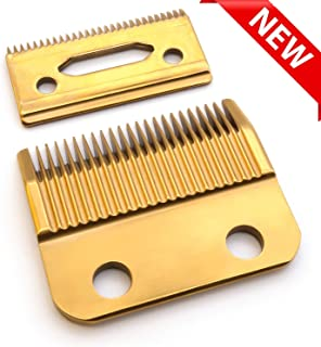 HONGNAL Clipper Blades For Wahl, 2 Hole (1Mm – 3Mm) Hair Trimmer Replacement For Wahl 1006,Super Taper #8400 Wahl #30-15-10 Blade Set