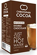 Christopher Cocoa Double Chocolate Hot Cocoa Mix, 10 Sachets Box, 180 g