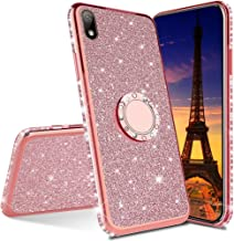 EMAXELER Samsung Galaxy A5 2017 Case Bing Glitter Diamond Shiny Luxury Plating TPU 360 Degree Ring Stand Bumper Silicone P...