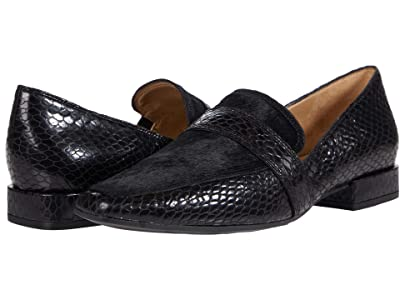 Naturalizer Cicero (Black Snake Print Leather/Brahma) Women