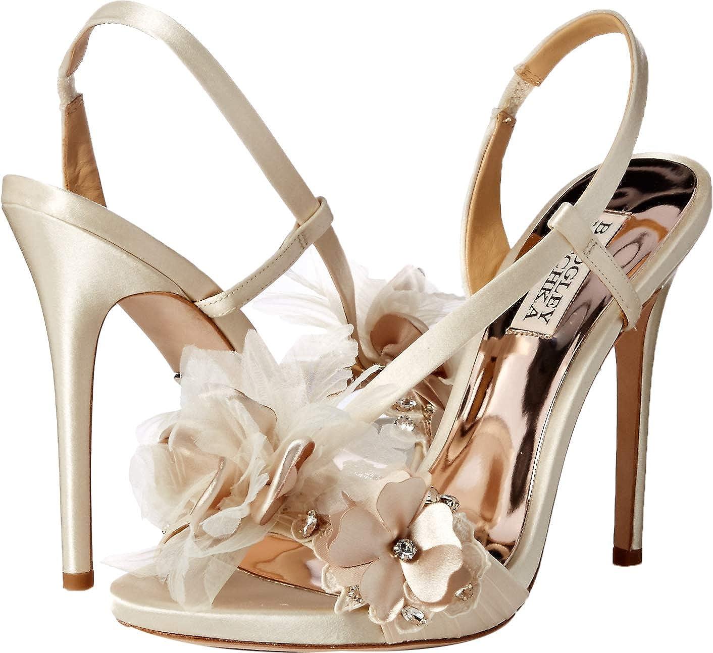 Badgley Mischka Womens Forever Heeled Sandal
