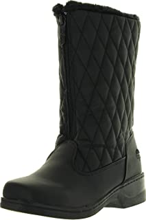Totes Women/'s Waterproof Insulated Boots Roberta Size 10W US Black Taupe