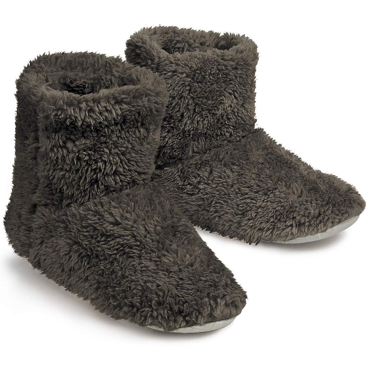 医療過誤下線郵便物スリッパ 冬 北欧 暖かい もこもこ ルームシューズ ル ームブーツ あったか ボアスリッパ 可愛い 靴 おしゃれ 滑り止め 静音 シューズ 洗濯可室内履き専用 冬専用 メンズ レディース