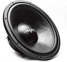 "Skar Audio IVX-15v2 D2 15"" 800 Watt Max Power Dual 2 Ohm Car Subwoofer"