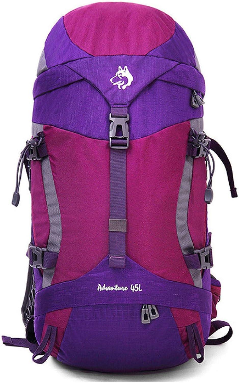 45L Im Freien Bergsteigen Tasche Outdoor Camping Camping Camping Rucksack B071NTH91R  Am praktischsten 4df490