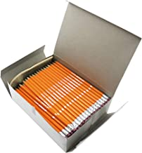 DIXON Oriole Wood-Cased Pencils with Erasers, Graphite, #2 HB, Pre-Sharpened, Yellow, 144-Count (12866)