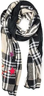 Luxury Fashion   Desigual Womens 19WAIW05GREY Grey Scarf   Fall Winter 19