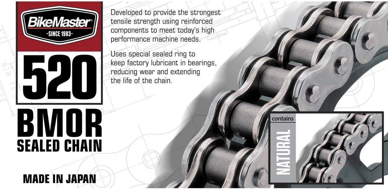 BikeMaster Max Fashion 41% OFF 520 BMRO Motorcycle O-Ring Chain - Gold Black X