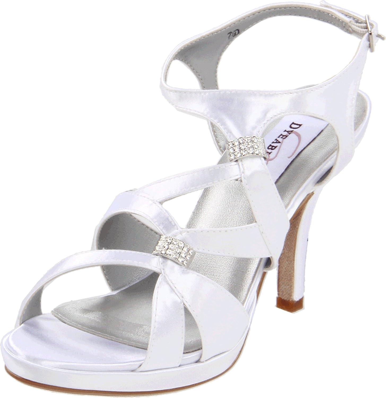 Dyeables Women's Claire Platform Sandal Leather Opening Regular dealer large release sale