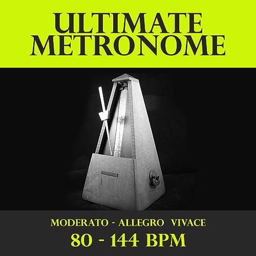 Metronome - 80 BPM - Moderato by Music Utility on Amazon