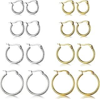 Best female hoop earrings Reviews