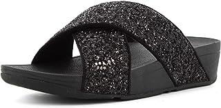 Fitflop Damen Lulu Cross Slide-Glitter Sandalen