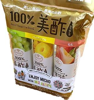 CJ 美酢 ミチョ 900ml×3本セット もも 桃&パイナップル&マスカット...