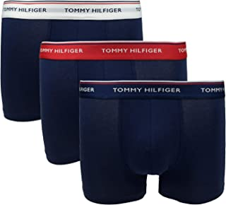 Tommy Hilfiger Mens 3p Trunk Boxer Shorts Underwear