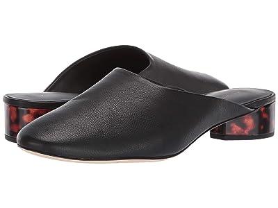 Via Spiga Chaney (Black Smooth Tumble Leather) Women