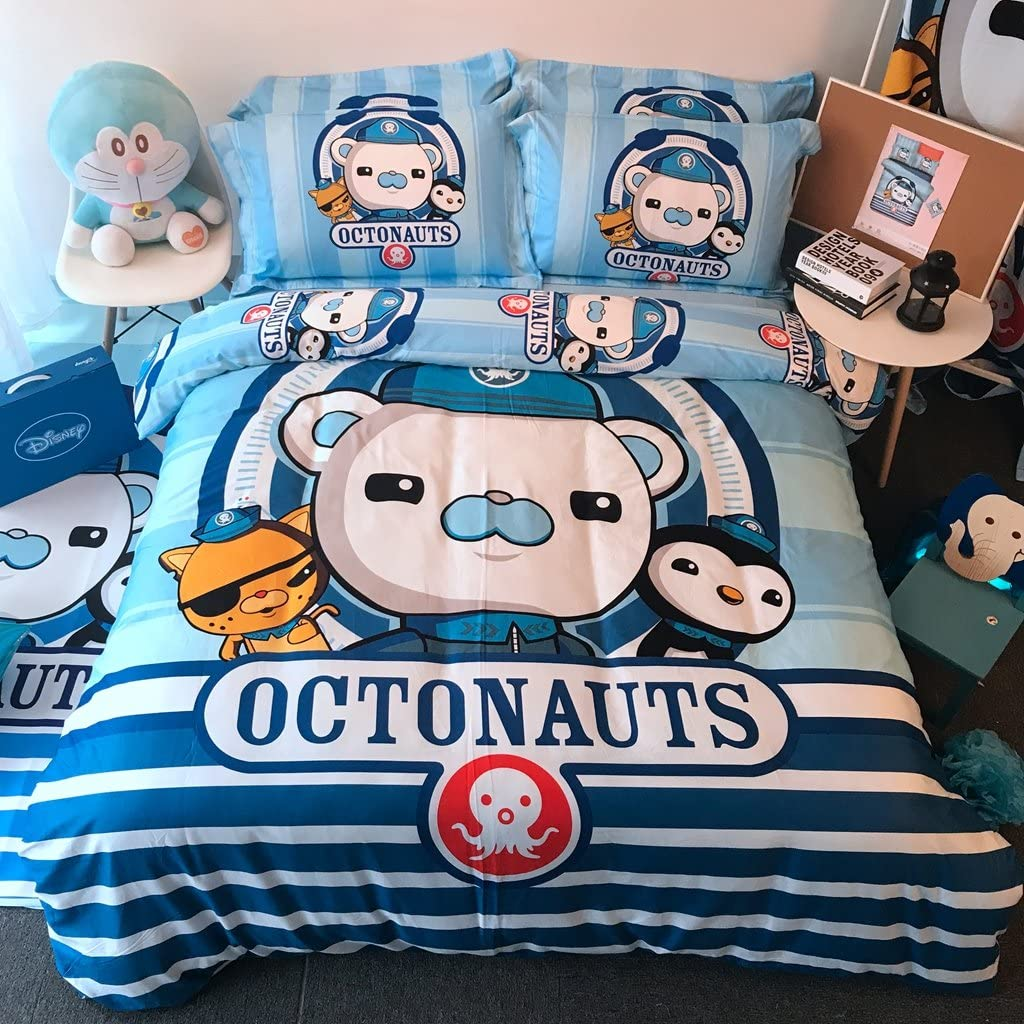 期間限定 Casa 100% Cotton Kids Bedding Set Octonauts Boys 爆売りセール開催中 Duvet The Cover