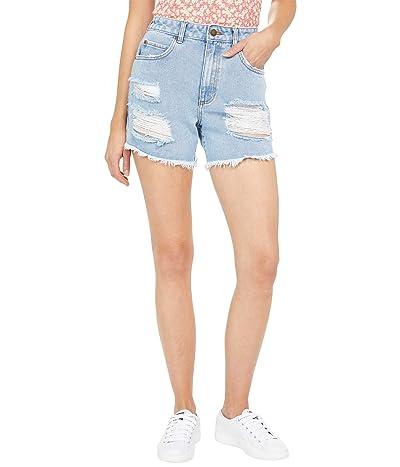 Billabong How Bout That Cutoffs Denim Shorts Women
