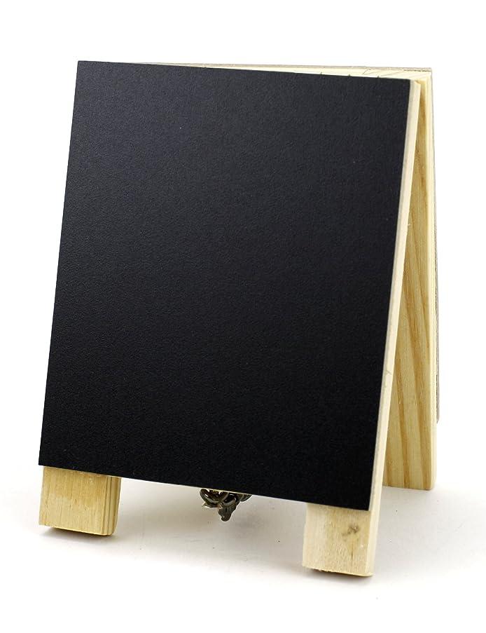 Kel-Toy SCBT6018 Double Sided Mini Chalkboard Easel, 2.75 x 4