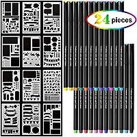 Yuntech 0.4mm Journal Planner Fineliner Color Pens Set