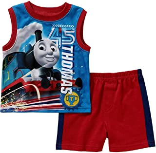 Thomas and Friends Baby Boys 2 Piece Shorts Set (0-3 Months)