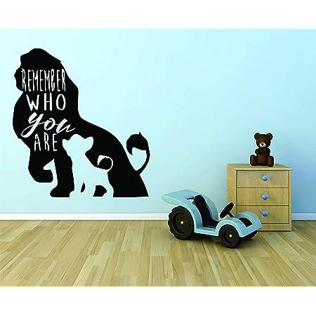 Lion King Vinyl Decal 6 Sizes Disney Wall Bedroom Window 12 Colours Sticker
