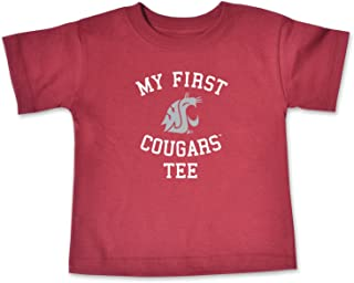 College Kids NCAA Washington State Cougars Infant Short Sleeve Tee, 6 Months, Cardinal