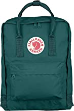Kanken Classic Backpack for Everyday Forest Green/Ox Red