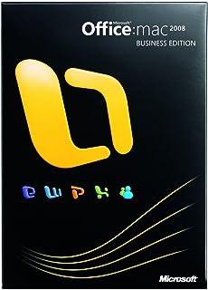 【旧商品】Office 2008 for Mac Business Edition (日本語版)