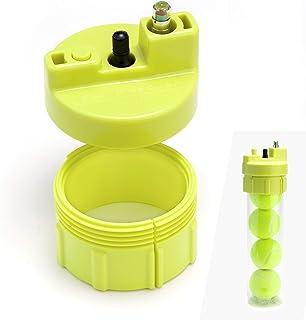 Ball Rescuer – Convierte envases de pelotas de pádel o tenis en un Bote Presurizador de 35 psi – Adaptable a envases de tres o cuatro bolas (envase no incluido).