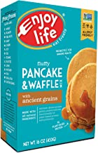 Enjoy Life Foods, Gluten Free Pancake And Waffle Mix With Ancient Grains, Gluten, Dairy, Nut and Soy Free And Vegan, 16 Ounce