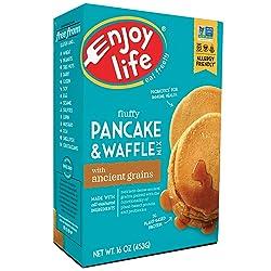 Enjoy Life Baking Mixes, Soy free, Nut free, Gluten free, Dairy free, Non GMO, Vegan, Pancake + Waff