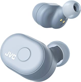 JVC HA-A10T-H 完全ワイヤレスイヤホン 本体質量5.2g小型軽量ボディ/最大14時間再生/防水仕様/Bluetooth Ver5.0対応/ミスティグレイ