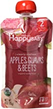 Happy Baby Apples Guavas and Beets Clearly Crafted  113 gm