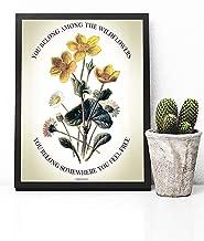 Tom Petty Poster Print - Tom Petty Wildflowers Poster - Tom Petty Wildflowers Lyrics Poster - Tom Petty Wall Art - Tom Petty Decor - Tom Petty Wildflowers - Tom Petty Gift - Tom Petty Poster Vintage