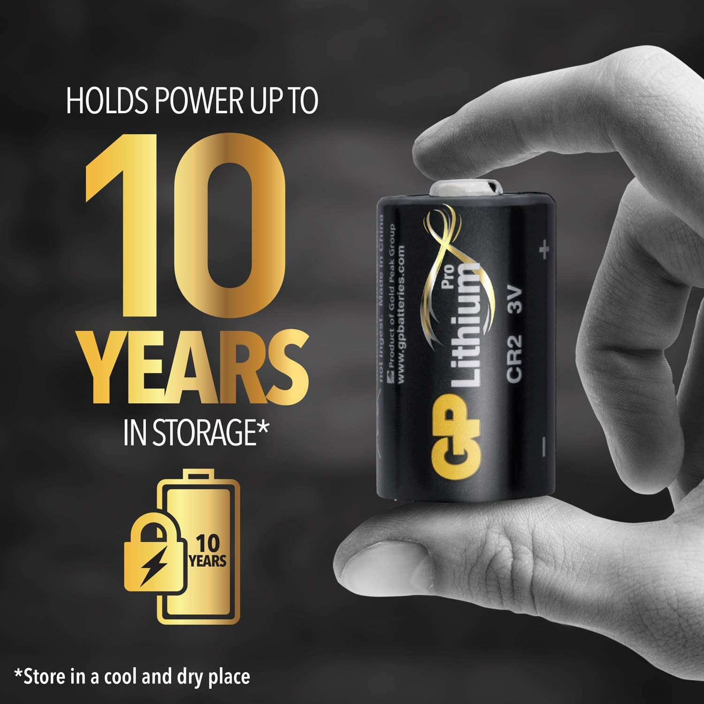 Gp Lithium Batteries 3 V Cr123a Cr2 Aa Aaa Elektronik