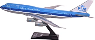 KLM Cargo (73-03) 747-300 Airplane Miniature Model Plastic Snap Fit 1:250 Part# ABO-74730I-006