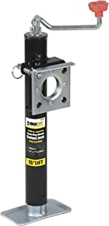 MaxxHaul  70155 15 Lift Ring Mount Trailer Jack with Top Wind - 2000 lbs. Capacity