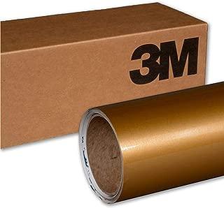 3M 1080 G241 GLOSS GOLD METALLIC 5ft x 1ft (5 Sq/ft) Car Wrap Vinyl Film