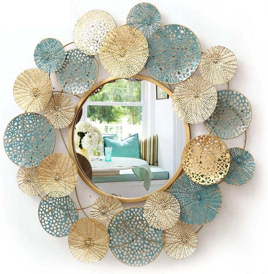 Creative Lovely Hallway Wall Mounted Mirror Room Dealing full price shipfree reduction Living Decorati
