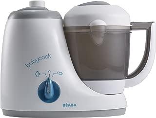 BEABA Babycook Original 4 in 1 Steam Cooker and Blender, 3.5 Cups, Dishwasher Safe, Peacock