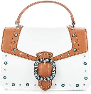 Liu Jo Women's N19066E000501065 White Leather Handbag