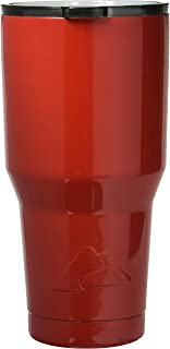 Red - Ozark Trail 30-Ounce Double-Wall, Vacuum-Sealed Tumbler