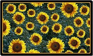 YUMBOR Sunflower Printing Doormat Rectangle Non-Slip Door Mat for Entryway Welcome Rug for Front Door, Indoor Outdoor Deco...