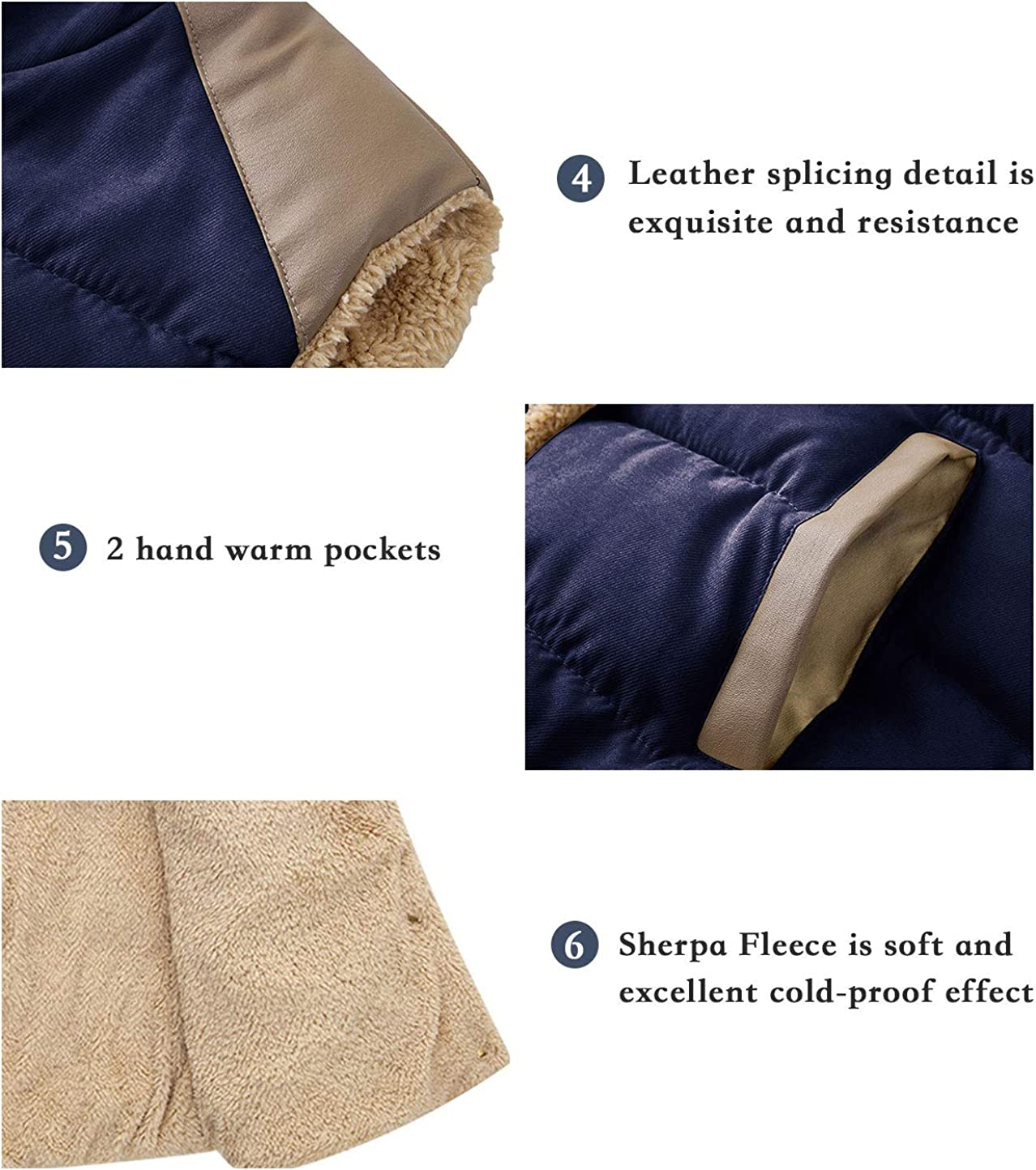 ZSHOW Womens Outwear Casual Thicken Qulited Hooded Vest Padded Fleece Jacket