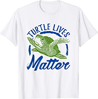 Turtle Lives Matter Shirt Save The Sea Turtles Drawing