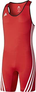 adidas Performance Mens Base Lifter Weightlifting Suit - Red - L