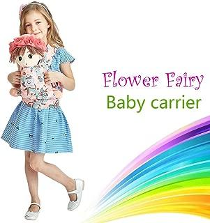 Angel Shine Flower Fairy Baby Doll Carrier (Pink Flower)