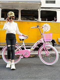 ZTBXQ Regalo Deportivo ldeas Freestyle Bicicletas para niños Bicicleta de una Sola Velocidad para niños Bicicleta Plegable...