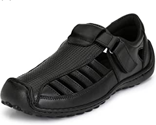 Sir Corbett Men's Genuine Leather Casual Sandals