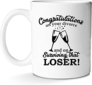 Best congrats on your divorce mug Reviews